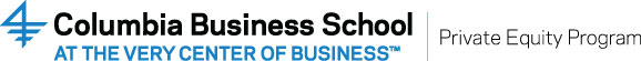 Columbia Business School Private Equity Program