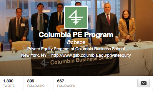 @Cbspe The PE Program on Twitter